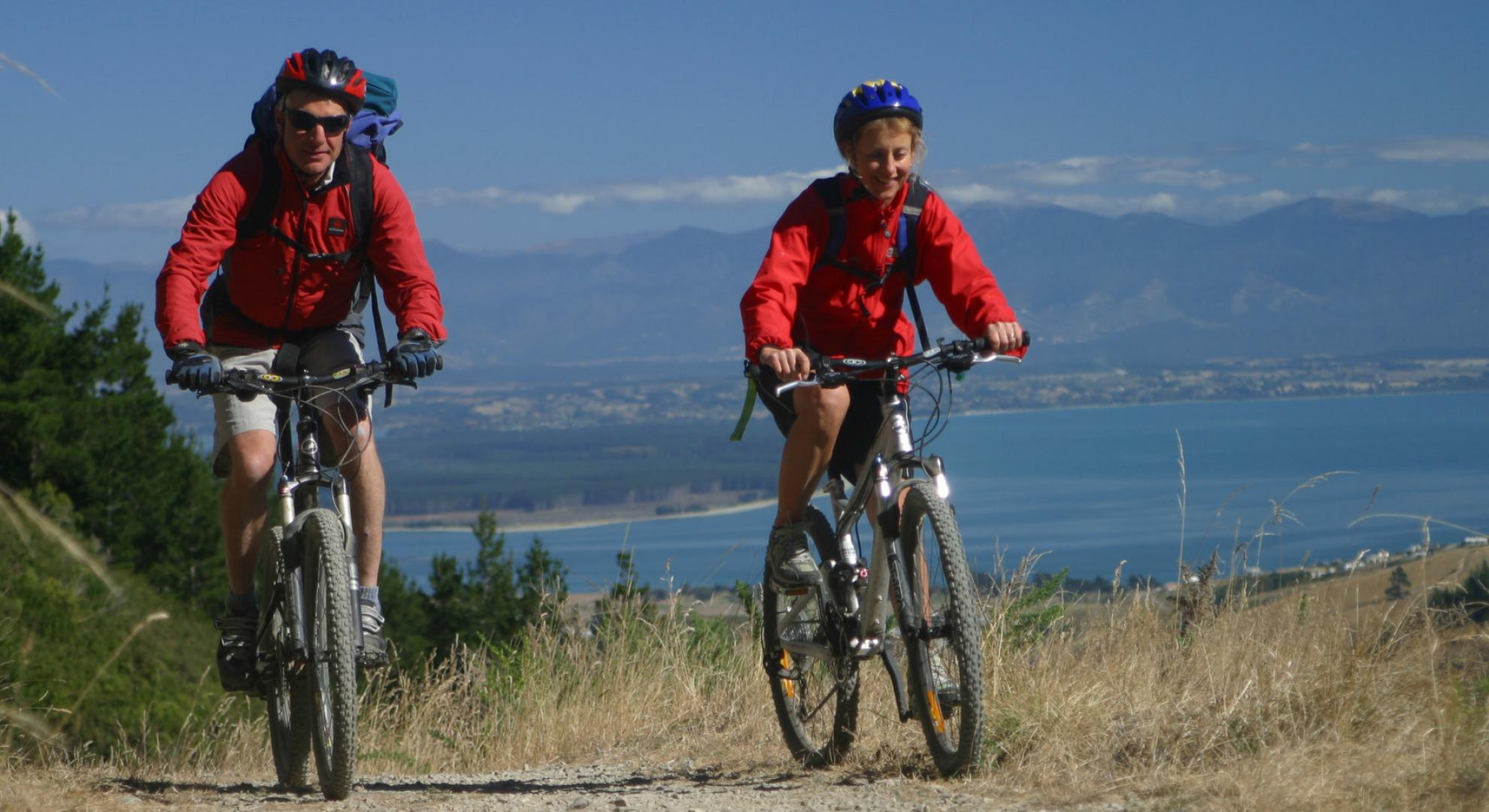 Cycling in Nelson and Tasman.