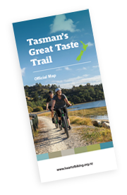 Tasman's Great Taste Trail brochure